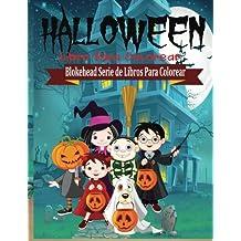 Halloween Libro para Colorear (Blokehead Serie de Libros Para Colorear)