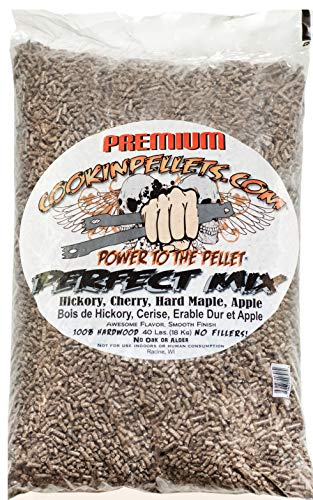 CookinPellets CPPM18KG 18 kg Mix Perfetto Pellet - Marrone