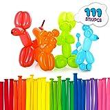 Lumaland 111er Set Modellierballons bunt Luftballon Original für Geburtstage Partys etc