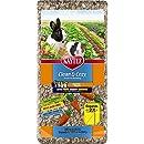 Kaytee 800049 Clean & Cozy Streu für kleine Tiere/ Nager/ Hamster, Futtersuche & Unterhaltung, 99.9 % staubfrei, 24.6 Liter, Gemüsegarten