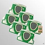 18 Stück Filtertüten Staubsaugerbeutel passend für Vorwerk Kobold VK 200 FP200