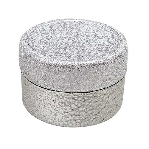Lot De 50 X 6 Gm Gros Pot D'Argent En Plastique Vide Conteneurs De Stockage Cosmétique Rechargeable Baume À Lèvres Jar Parfum Solide