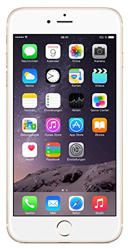 Apple iPhone 6 Plus Smartphone (5,5 Zoll (14 cm) Touch-Display, 64 GB Speicher, iOS 8) - Gold Plus 6 Iphone