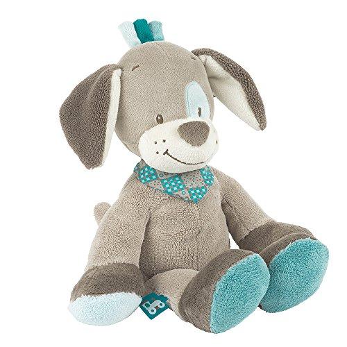 Nattou Peluche pour Bébé Garçon 28 cm, bleu - Cyril le chien