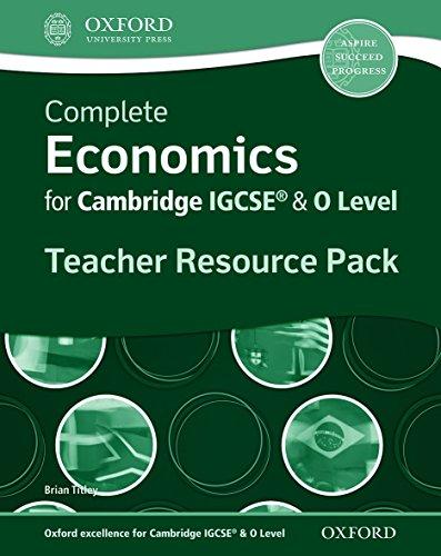 Complete Economics For Cambridge Igcse. Teacher's Resource Pack di Aa. Vv.
