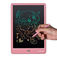 Mooedcoe LCD Writing Tablet 10 Inch Colourful Digital Writing Pad for Kids Handwriting Notepad Electronic Drawing Graphic Writing Board