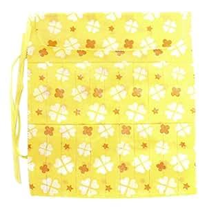 22-Slot Knitting Needle Pin Case Bag Holder--Random Color