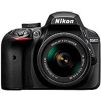 Nikon Kit D3400 + Afp Dx18/55 No Vr + 55/200 Vrii + Libro + Tripode