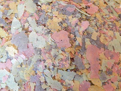 Gold Label d'eau froide Poissons d'aquarium étang Poisson Flocon Nourriture 500 ml 1/2 litre
