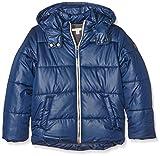 Esprit Kids Jungen Mantel RI4403G, Blau (Graublau 420), 170 (Herstellergröße: XL)
