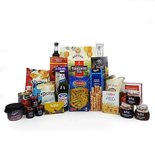Peroni Beer and Food Cupboard Selection Hamper Gift 25 Items - Ideas for him, her, Birthday, Grandma, Grandad, Mum, Dad, Son, Daughter, Thank you, Student