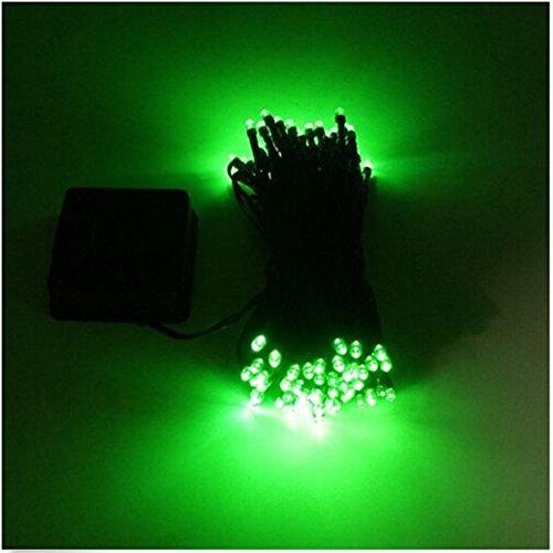 nur Licht wasserdicht Solarlampe LED Weihnachtslichterkette in den Freien Garten Licht Dekoration ( Gruenes Licht) ()