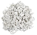 AERZETIX: 100 x Grapas para cable 12mm C1759
