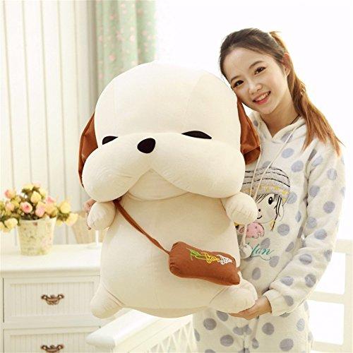 Zantec Muñeco de peluche Stray Dog Pillow Niños Short Plush Doll Toy Día, San Valentín Regalo Adorno