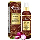 Oriental Botanics Red Onion Hair Growth Oil, 200ml - With Argan Oil, Castor
