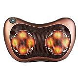 Portable massaggi, cuscino massaggio rilassante collo spalla della coscia e per auto Home Office (marrone) by Feierna