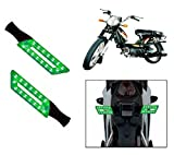 Capeshoppers-Parallelo-LED-Bike-Indicator-Set-Of-2-For-TVS-SUPER-XL-S/S-Green
