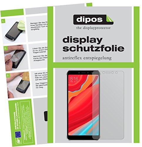 dipos I 2X Schutzfolie matt passend für Xiaomi Redmi S2 Folie Bildschirmschutzfolie