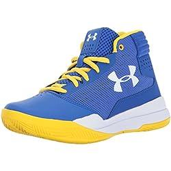 Under Armour UA BGS Jet 2017, Zapatos de Baloncesto Para Niños, Azul (Team Royal), 39 EU
