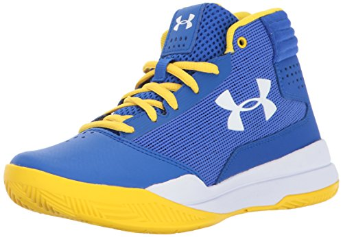 Under Armour Jungen UA BGS Jet 2017 Basketballschuhe, Blau (Team Royal), 38 - Armour Tops Schuhe High Under