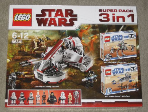 LEGO STAR WARS SUPER PACK 3 IN 1