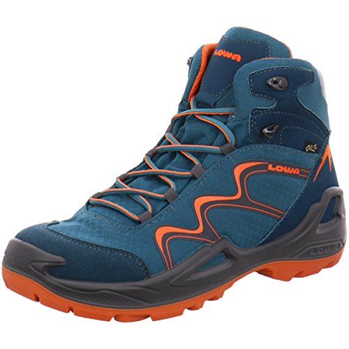 Lowa Innox GTX MID Junior - petrol/orange, Gr. 37 EU