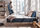 Naturalex - Matelas 90 X 190 cm Aura à mémoire de forme VISCOTEX + mousse Blue Latex à 7 zones de confort,25 cm, HAUT DE GAMME LITERIE CONFORT