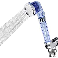 Rovtop Mano la Cabeza Con Terapia magnética Alcachofa de Ducha Presurizado -3 chorros Ahorro de agua