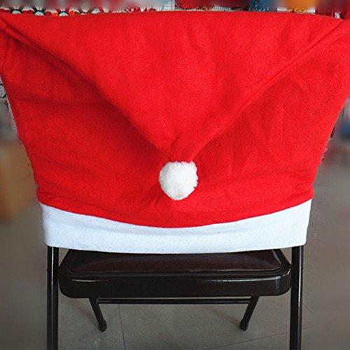 Zolimx 1PC Santa Red Hat Hussen Weihnachts Schmuck