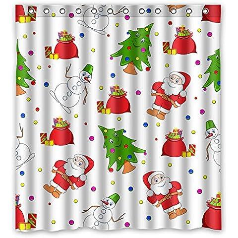 Animate Babbo Natale e Albero di Natale e pupazzo di