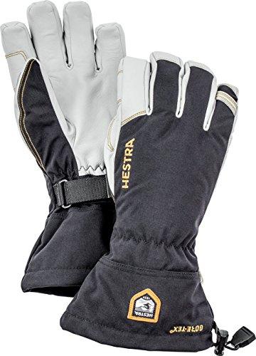 Hestra Army Gore-Tex Ski Handschuh, unisex, 31460-100-08, Schwarz, 8
