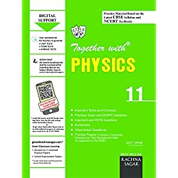 Together with CBSE/NCERT Practice Material Chapterwise for Class 11 Physics for 2019 Examination