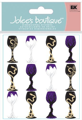 Jolee's Boutique Dimensional Stickers, Halloween Goblets by Jolee's Boutique