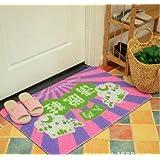 C & H/Mat Hall de entrada felpudos antideslizante alfombra de baño a Get alfombrilla de suelo 4