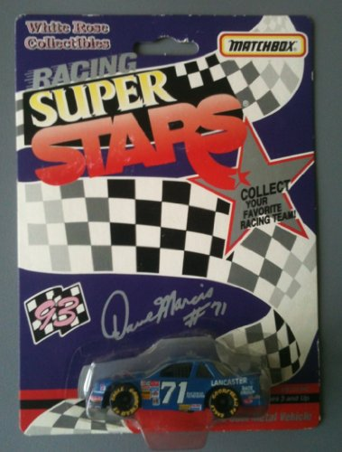 MATCHBOX 1993 Racing Super Stars White Rose Collection - Dave Marcis #71 Enck's Catering Chevy by White Rose Collectibles