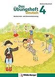 Das Übungsheft Deutsch / Das Übungsheft Deutsch 4: Rechtschreib- und Grammatiktraining (Bild: Amazon.de)