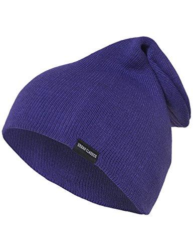 Urban Classics Long Beanie, Berretto Unisex-Adulto, Violett (Purple 195), Taglia Unica