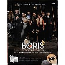 Boris Affiche la télévision Poster Television Boris (11 x 17 In - 28cm x 44cm) Style A
