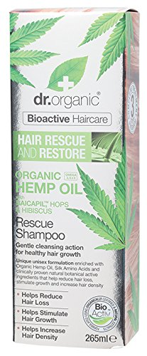 Dr Organic Hemp Oil Rescue Shampoo 265ml by Dr Organic