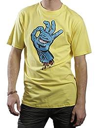 Herren T-Shirt SANTA CRUZ - OK Hand - Banane - SCTSOK