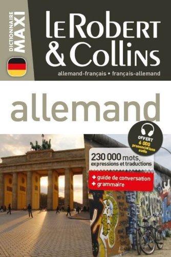 Dictionnaire Le Robert & Collins Maxi allemand par Collectif