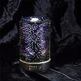 CHENGXI Ultraschall-Stiller Aromatherapie-Maschinen-Luftbefeuchter-Ultraschall-Duft-Ultraschall Beleuchtet Dekorative Nachtlichter 24V/12W,B