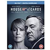 House of Cards - Season 1-5 [Blu-ray]