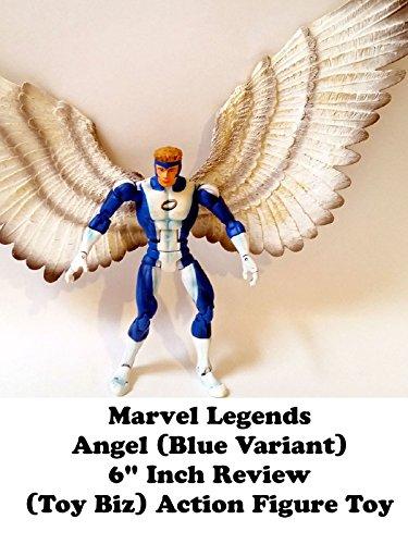 Marvel Legends Angel review (blue variant)