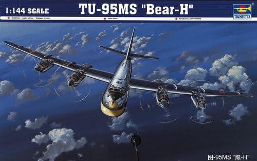 Trumpeter 03904 modèle Kit TU-H 95ms Bear | Apparence Attrayante
