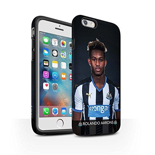 Offiziell Newcastle United FC Hülle / Matte Harten Stoßfest Case für Apple iPhone 6+/Plus 5.5 / Pack 25pcs Muster / NUFC Fussballspieler 15/16 Kollektion Aarons