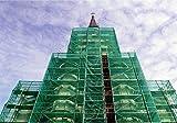 Gerüst Netz Windnetz Staubschutz Sichtschutz BLAU 2,57 x 10 m