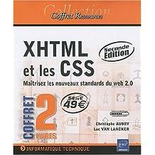 XHTML et les CSS - Coffret de 2 livres : Maîtrisez les nouveaux standards du web 2.0 [2e édition]
