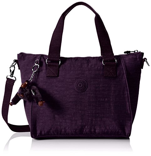 Kipling Women's Amiel Top-Handle Bag, Purple (79W Dazz Purple)