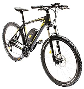 EASYBIKE E-Bike Elektofahrrad M3-650 27,5 Zoll Bereifung 11Ah 396Wh E-Mountainbike SCHWARZ Modell 2014